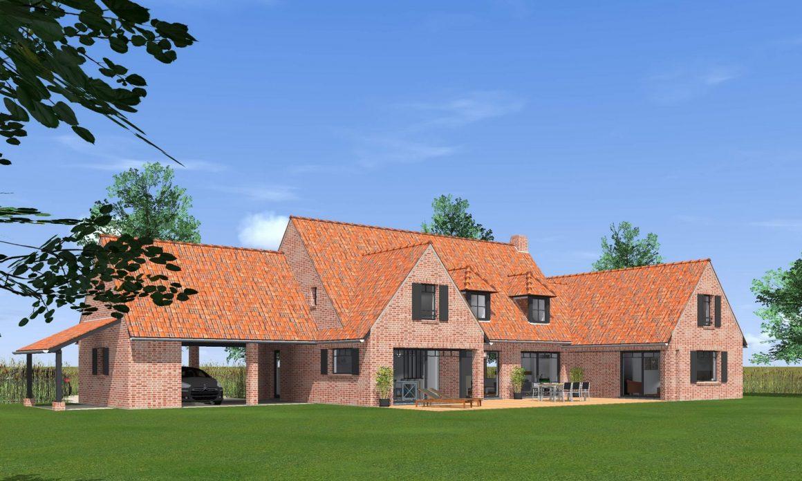 maison-classique-car-port-terrasse-appenti