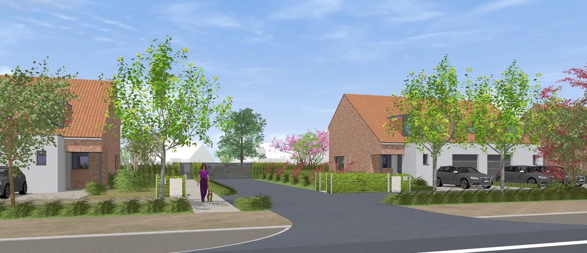Maisons Michel Delplanque-Chanterelle-Bondues-lotissement-Type 4-tuiles-enduit -briques