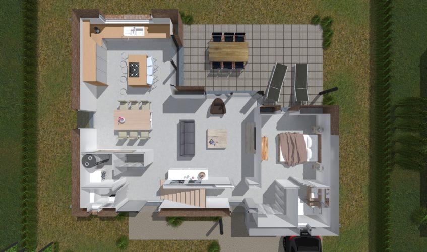 Clos St Joseph Masse AP 03-Vente_rez 3D lot 2